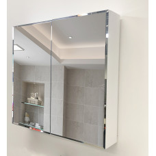 600 x 720 x 150mm Bathroom PVC Mirror Cabinet Perfume Cabinet
