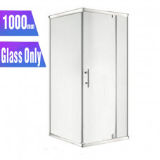 1000*1000*1900mm Swing Shower Glass Door and Return Only