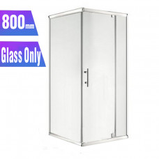 800*800*1900mm Swing Shower Glass Door and Return Only