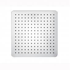"300mm 12"" Stainless steel  Super-slim Square Chrome Rainfall Shower Head"