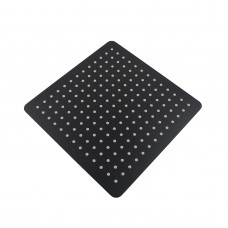 "300mm 12"" Stainless steel  Super-slim Square Nero Black Rainfall .."