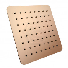"200mm 8"" Stainless Steel 304 Rose Gold Super-slim Square Rainfall.."