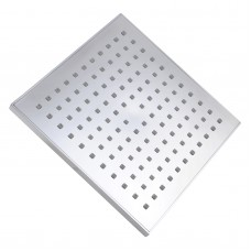 "200mm 8"" ABS Square Chrome Rainfall Shower Head"
