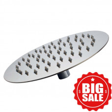 200mm 8 inch  Stainless steel Super-slim Round Chrome Rainfall Shower Head