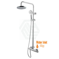 8 inch Round Twin Shower Set With ABS Top Showe..