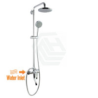 Round Twin Shower Set with ABS Top Shower Head ..