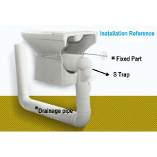 Toilet Adapter S Trap Toilet Pan Connector Kit