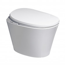 660x405x485mm Intelligent Electric Smart Toilet Automatic Flush Tank L..