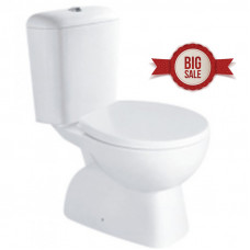 645x370x800mm Two Piece Toilets Suite S TRAP  WELS WATERMARK Soft Clos..