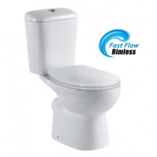 670x400x770mm Watermark Rimless Back To Wall Two pieces Toilets with P..