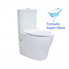 665x360x840mm Tornado Silent High End Back To Wall Ceramic Toilet Sui..
