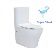 665x360x840mm Whirlpool Silent High End Back To Wall Ceramic Toilet S..