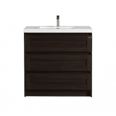 900x500x850mm Floor Standing 3 Drawers Vanity