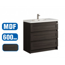 600x500x850mm Floor Standing 3 Drawers Vanity