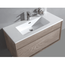 1000x460x460mm Wall Hung Single Drawer Vanity