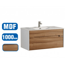 1000x500x500mm Wall Hung Single Drawer Vanity