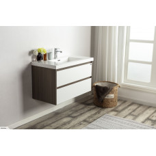 900x500x460mm Wall Hung 2 Drawers Vanity