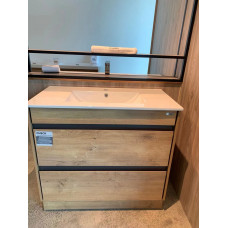 900x460x830mm Mosia Floor Standing 2 Drawers Vanity